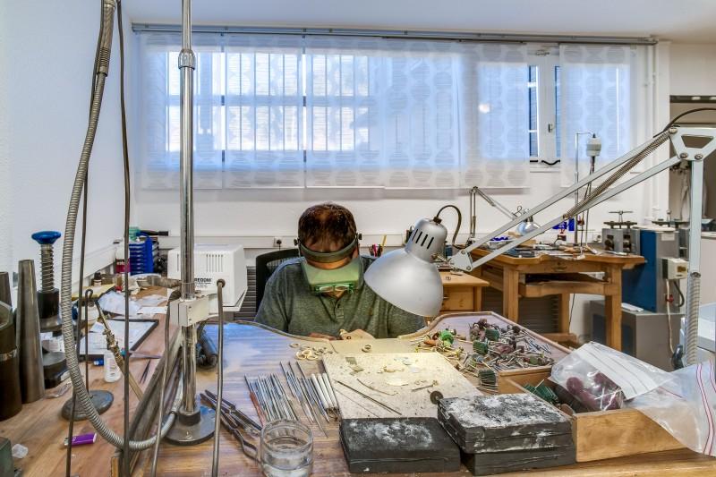 Atelier de création bijoux Trabbia Vuillermoza