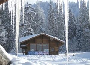 Le Chalet de l'école de ski nordique de La Vattay