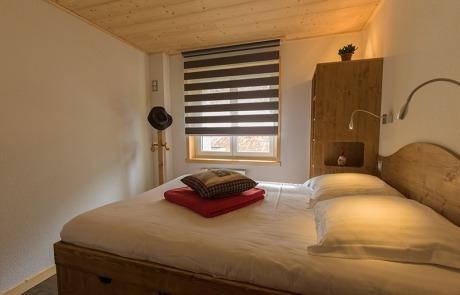 Chambre lit double N°10 et 20 Résidence Les Tavaillons