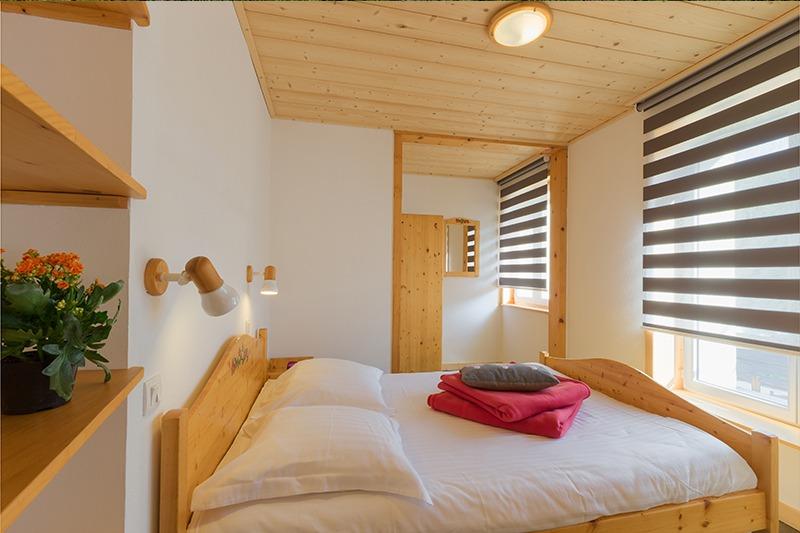 Chambre lit double N°11 Résidence Les Tavaillons