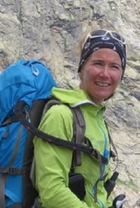 Carole accompagnatrice en montagne