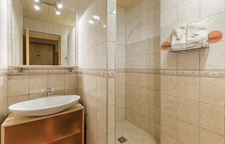 Salle de douche et vasque uniquement N°11 et N° 11 et 21Résidence Les Tavaillons